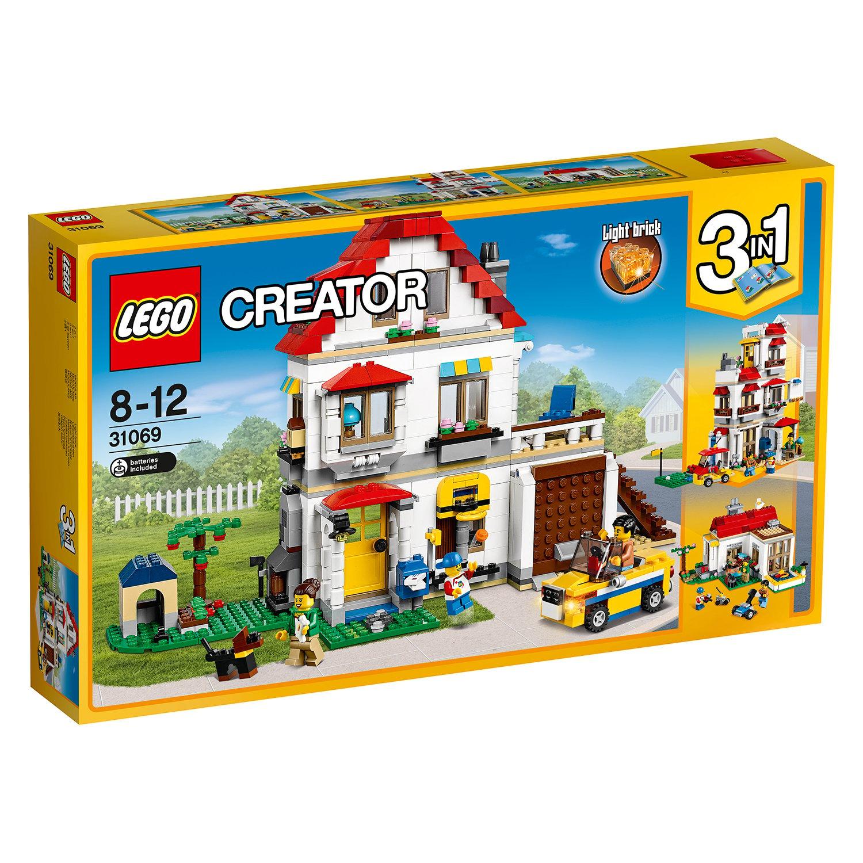 lego® creator - vila de familie (31069)