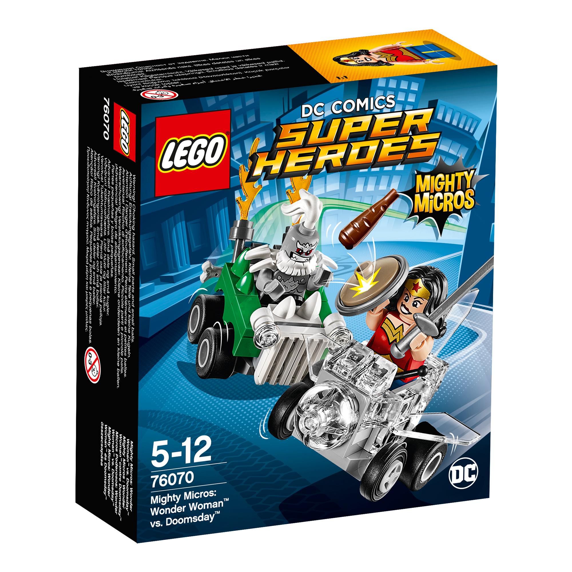 lego® dc comics super heroes - wonder woman contra doomsday (76070)