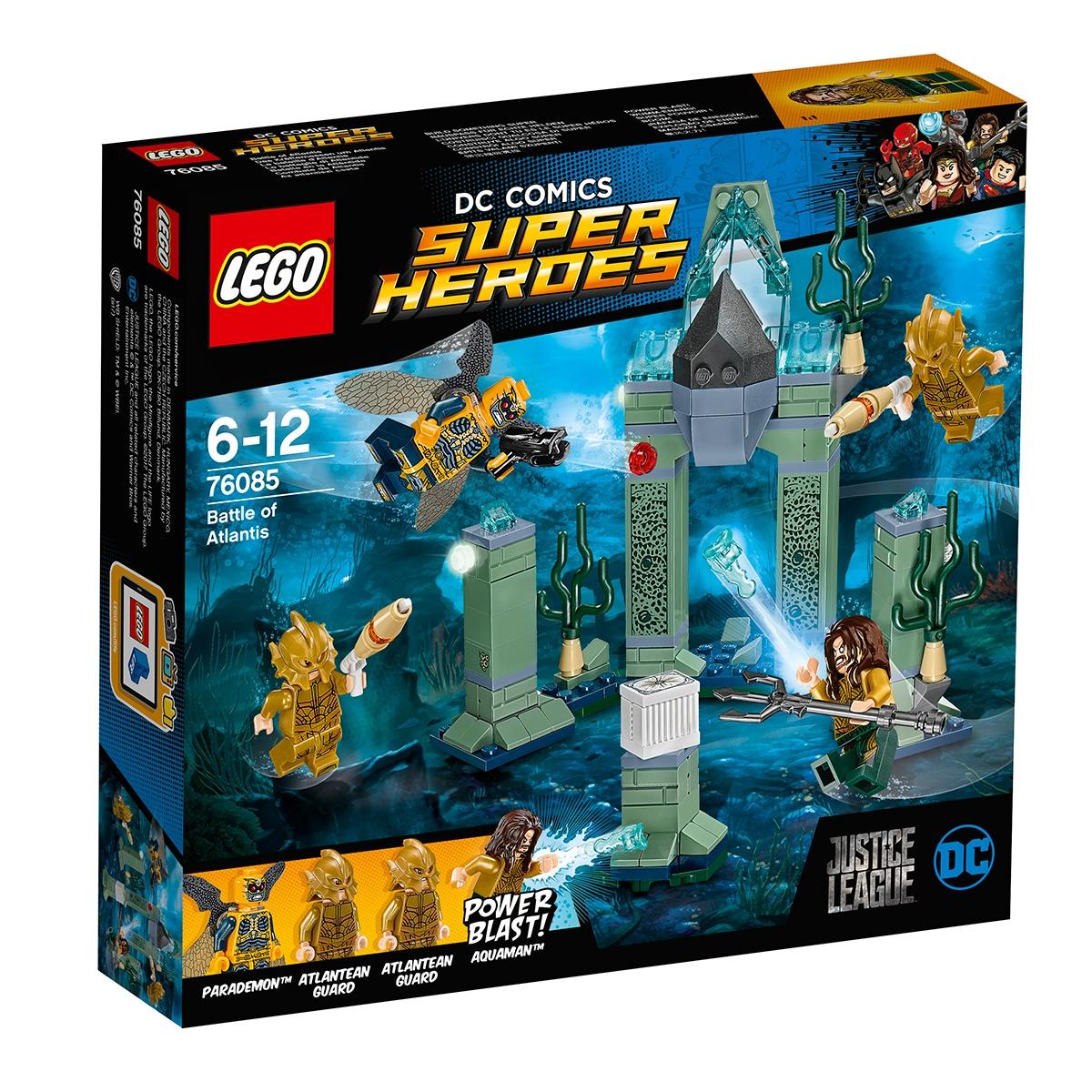 lego® dc comics super heroes - batalia atlantisului (76085)