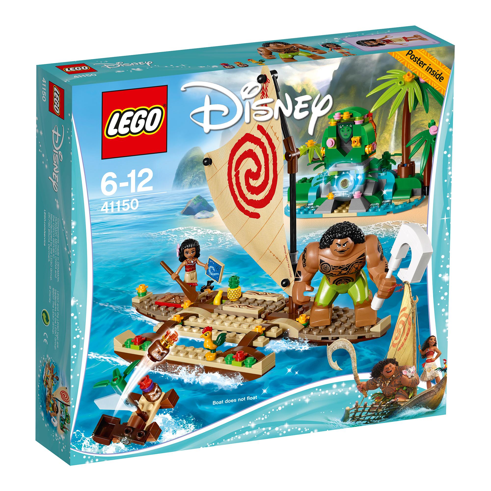 lego® disney princess - vaiana si calatoria ei pe ocean (41150)