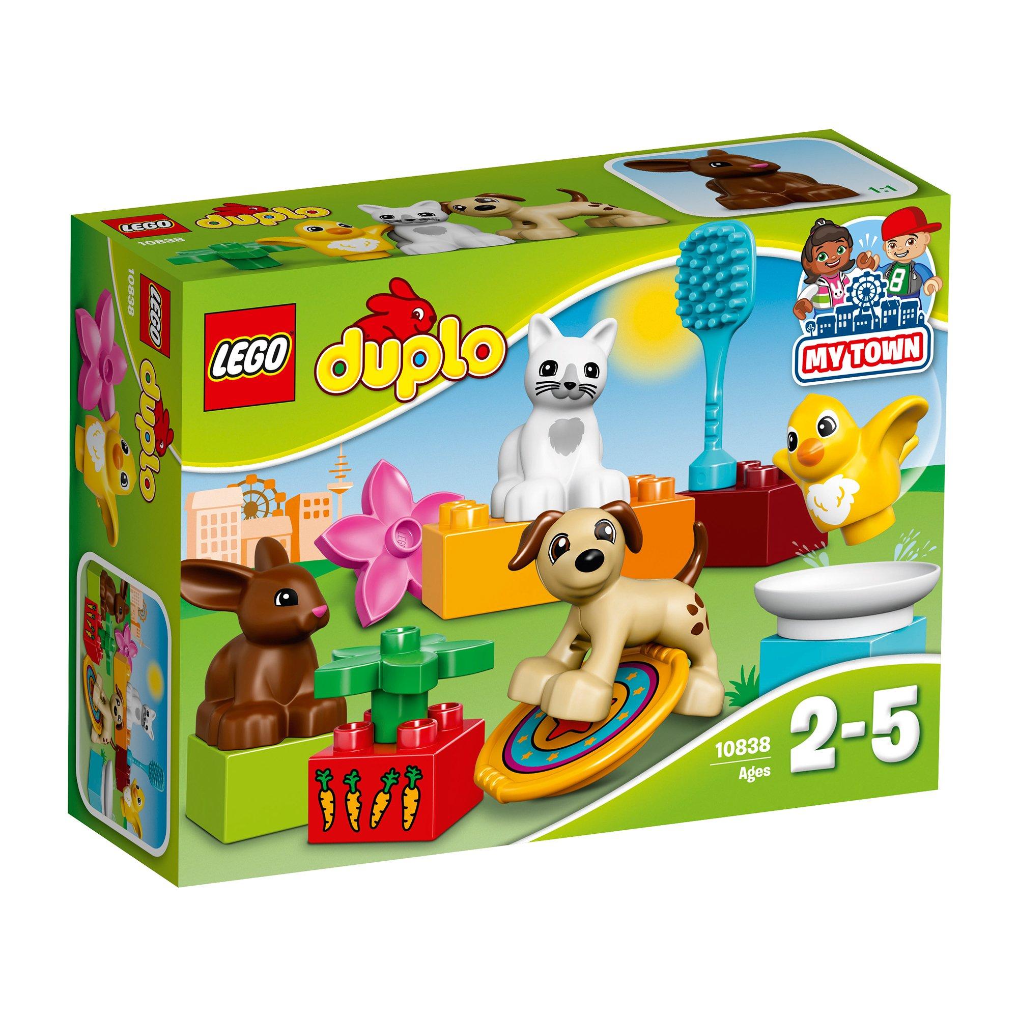 lego® doplo - animalutele familiei (10838)