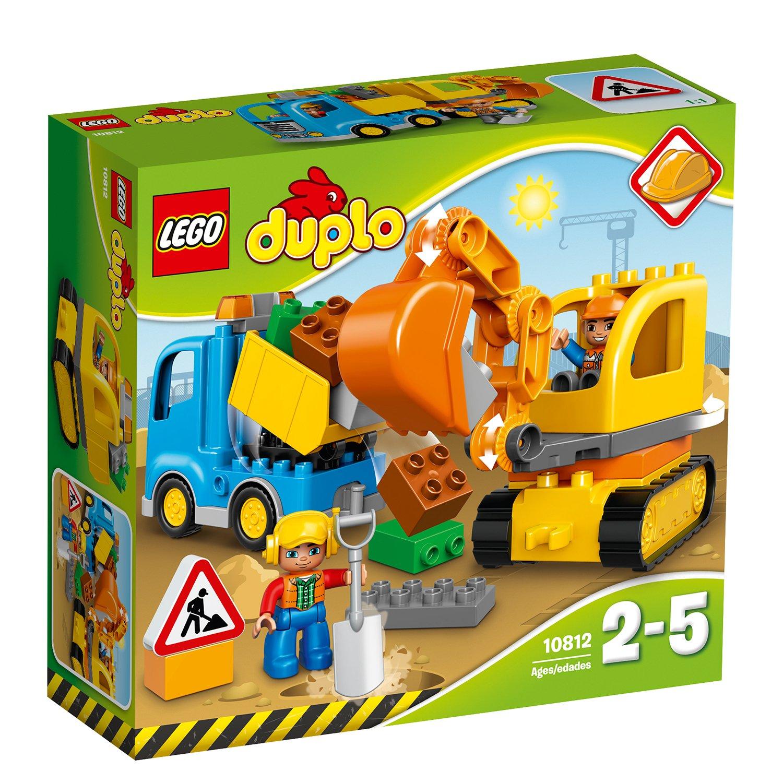 LEGO® DUPLO® - Camion si excavator pe senile (10812)