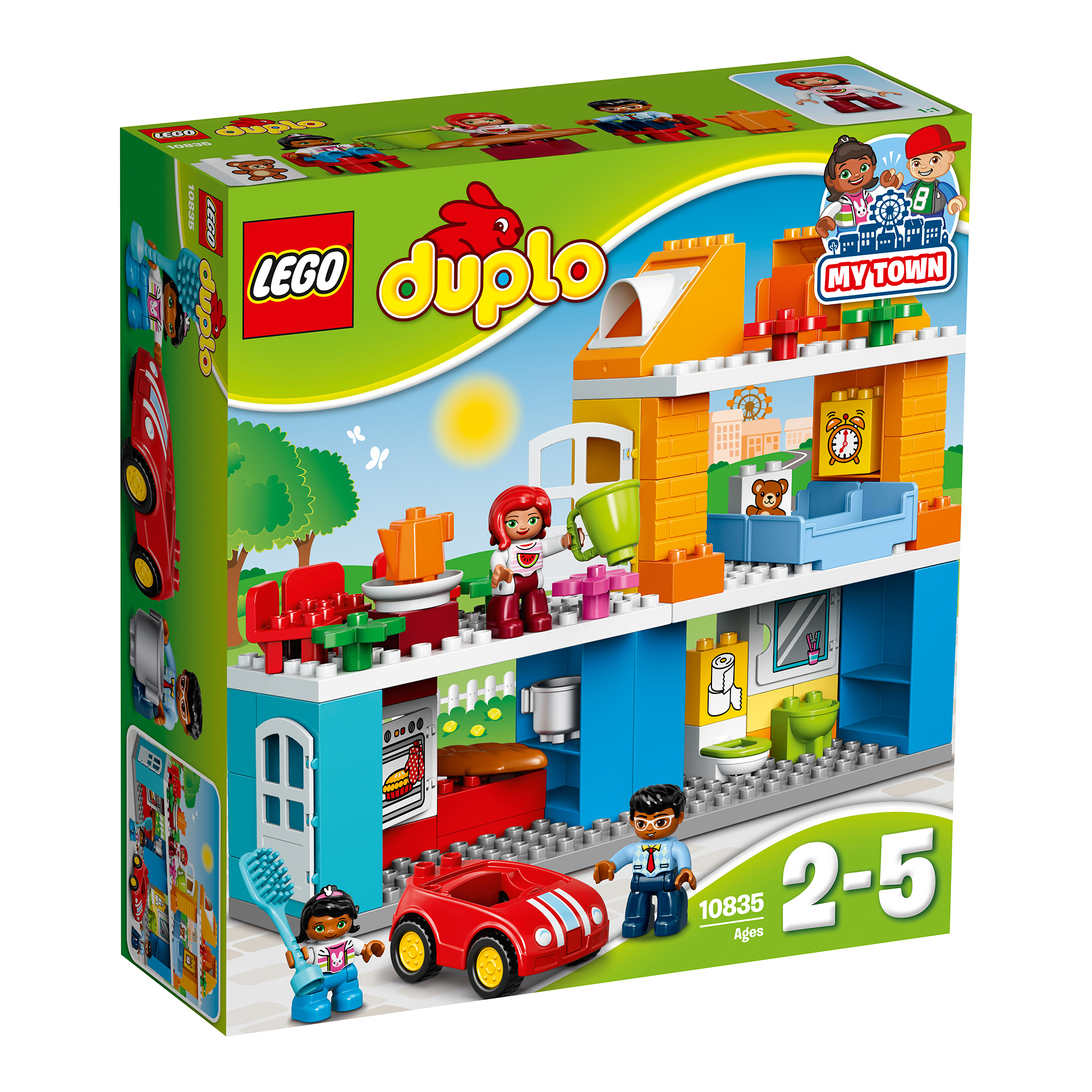 lego® duplo® - casa familiei (10835)