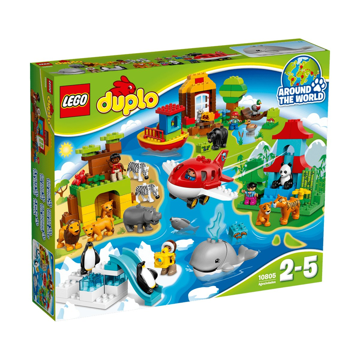 lego® duplo® - in jurul lumii (10805)