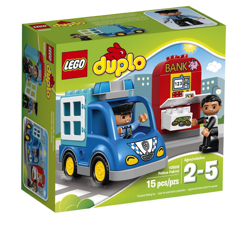 lego® duplo® - patrula de politie (10809)