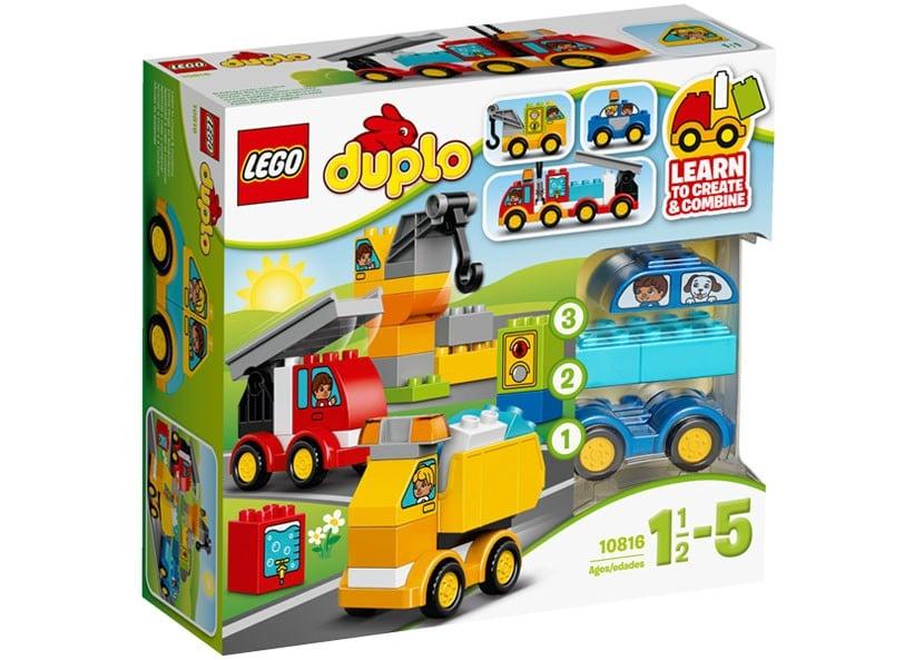 lego® duplo® - primele mele masini si camioane (10816)