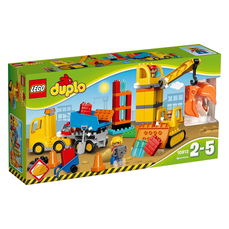 lego® duplo® - santier mare (10813)