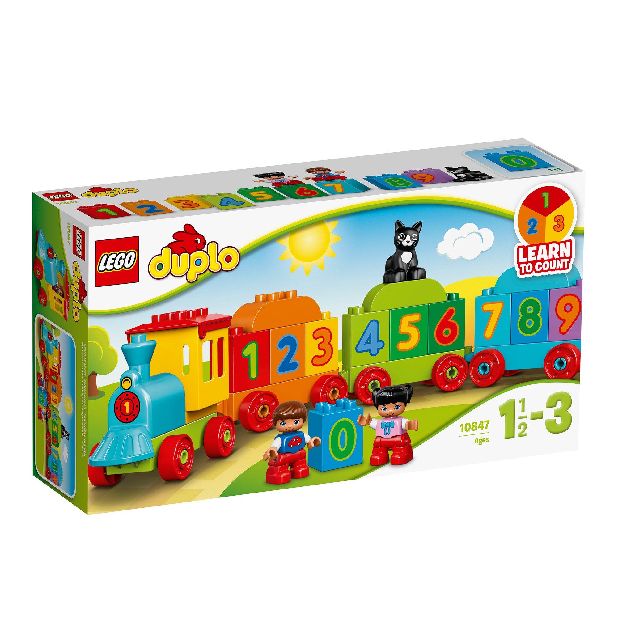 LEGO® DUPLO® - Trenul cu numere (10847)