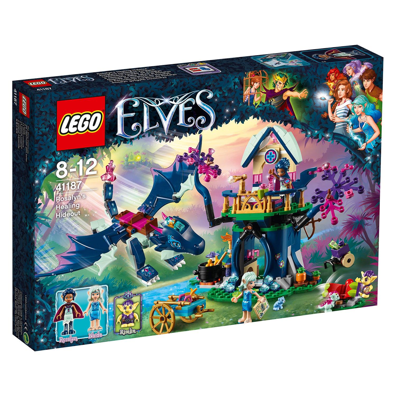 lego® elves - ascunzisul tamaduitor al lui rosalyn (41187)