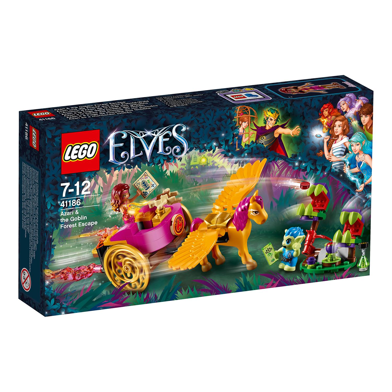 lego® elves - azari si evadarea din padurea spiridusilor (41186)