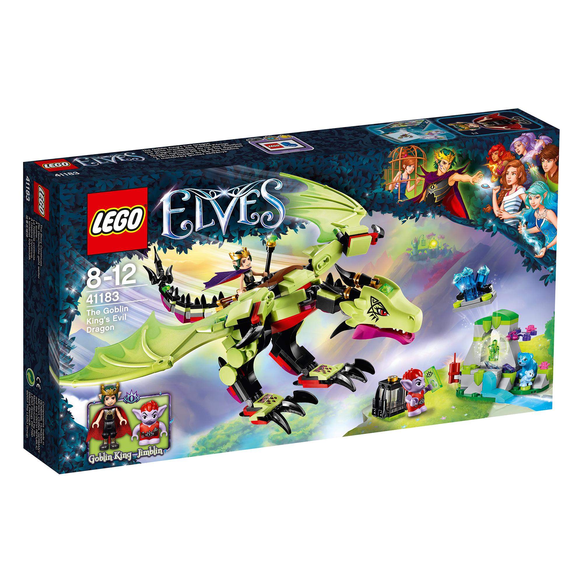 lego® elves - dragonul malefic al regelui goblin (41183)