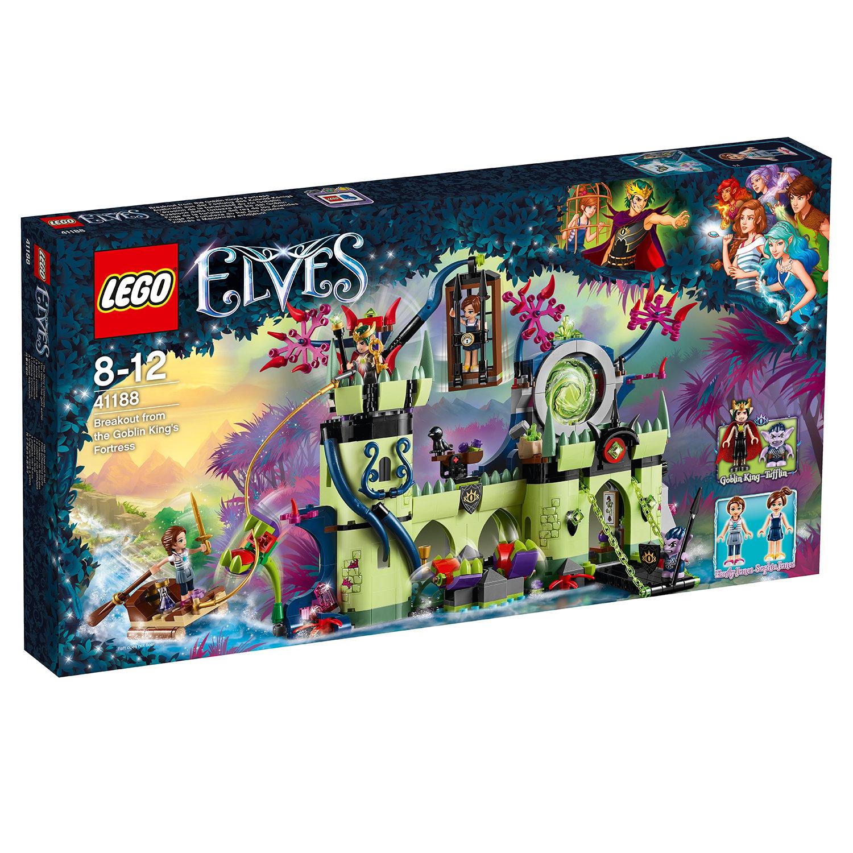 lego® elves - evadarea din fortareata regelui spiridusilor (41188)
