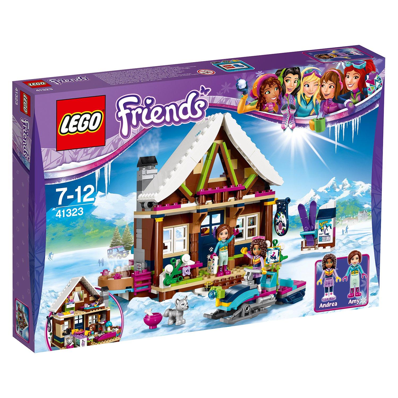 lego® friends - cabana din statiunea de iarna (41323)