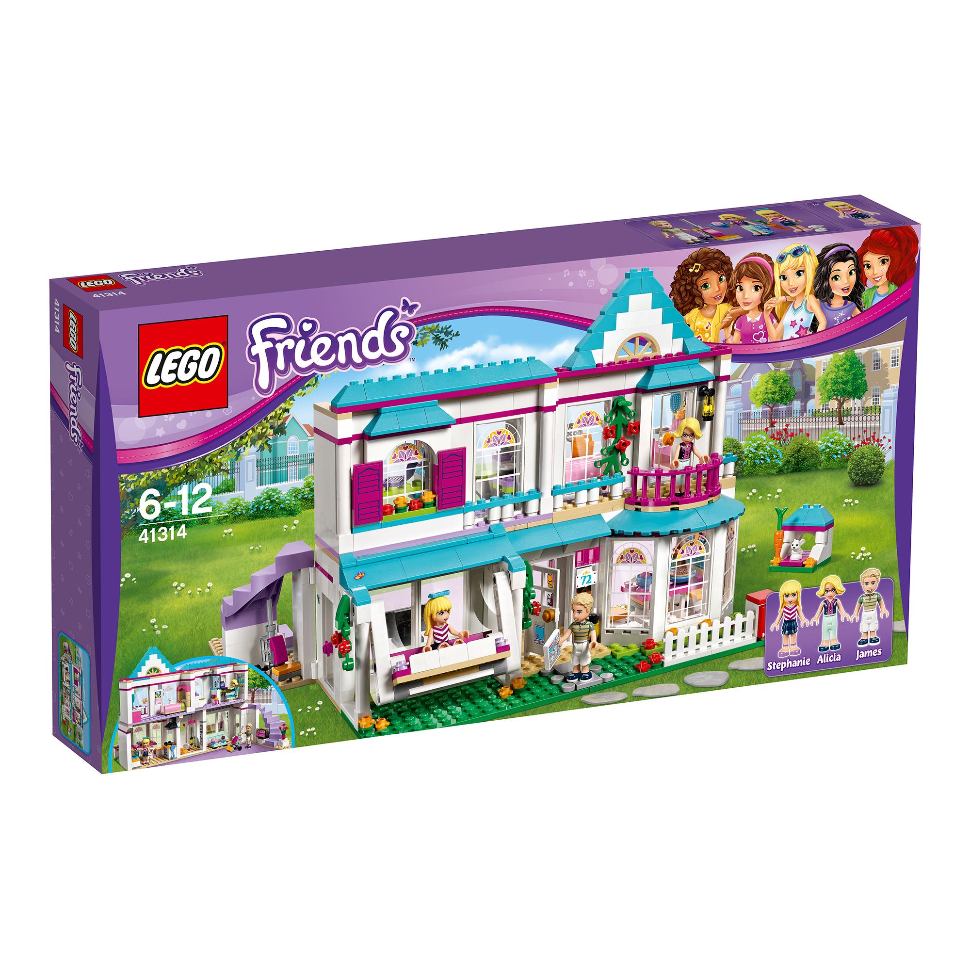 lego® friends - casa stephaniei (41314)