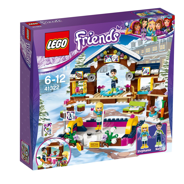 lego® friends - patinoarul statiunii de iarna (41322)