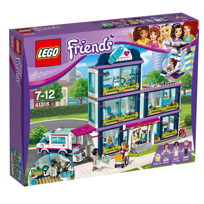 lego® friends - spitalul din heartlake (41318)