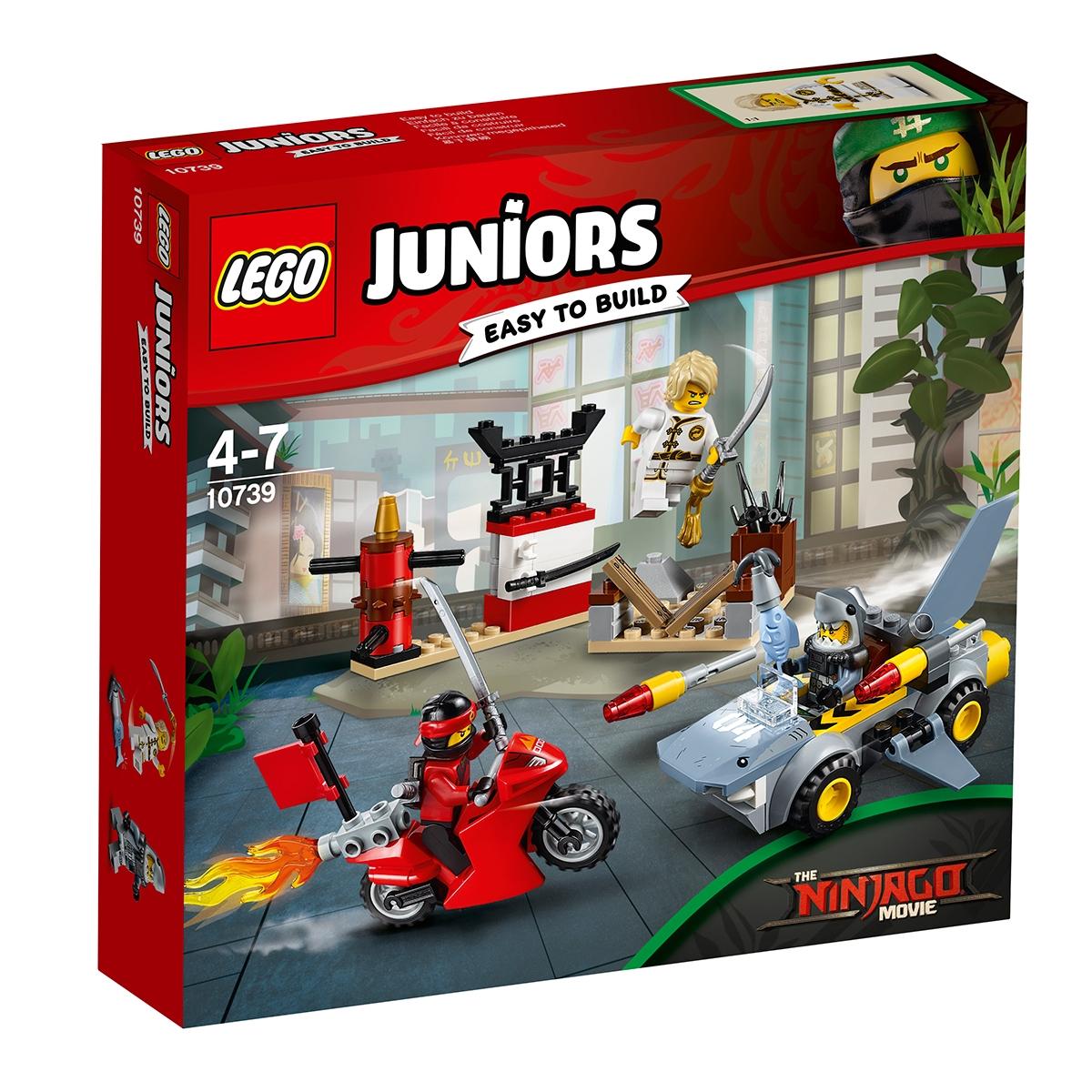 lego® juniors - atacul rechinului (10739)