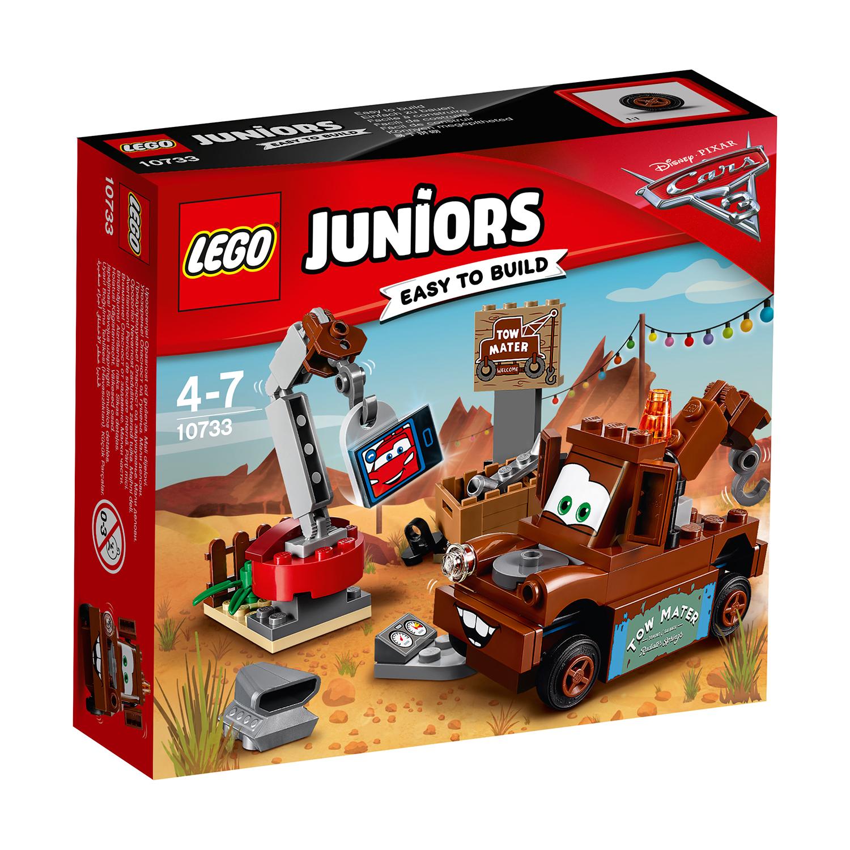 lego® juniors - depozitul de fier vechi al lui bucsa (10733)
