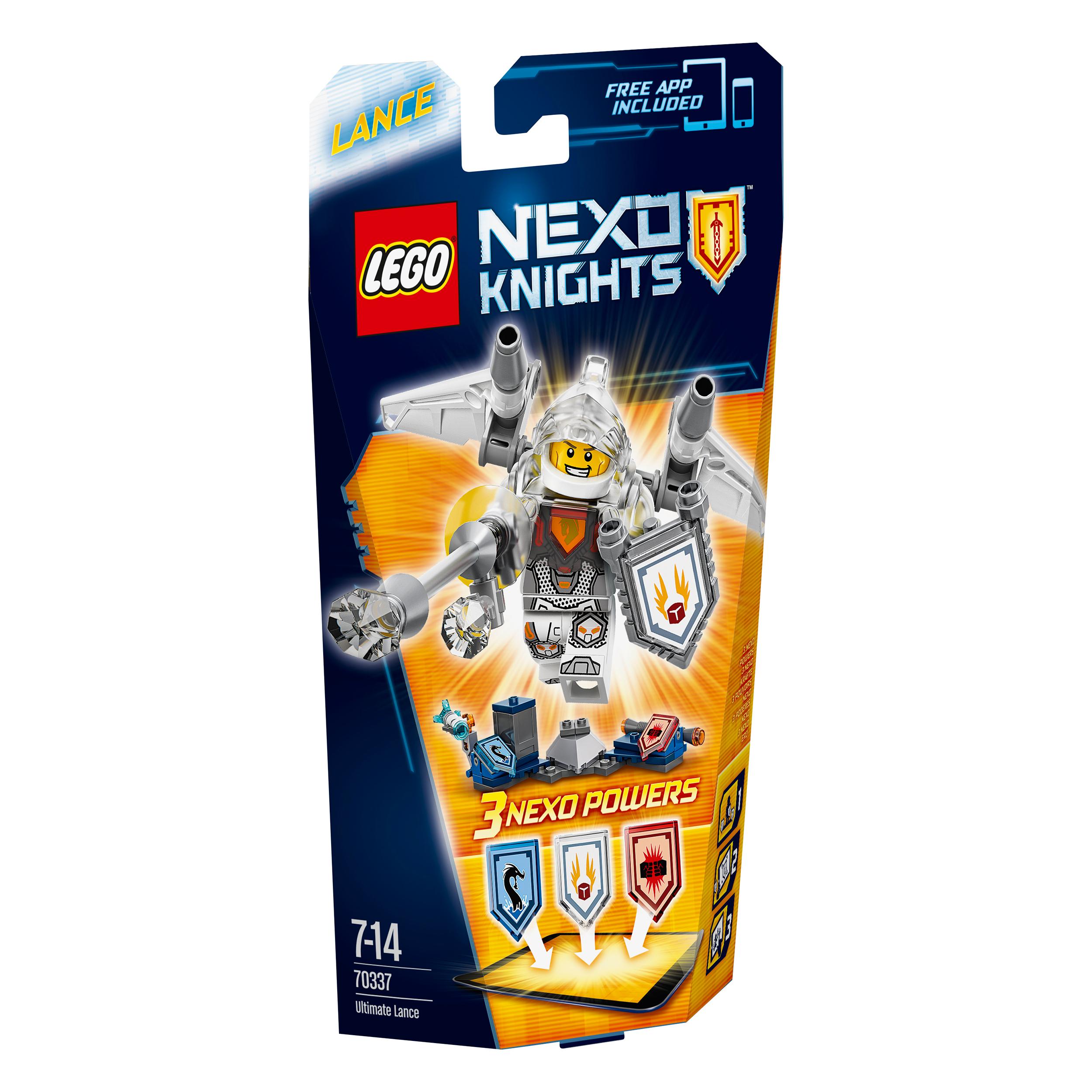 lego® nexo knights - supremul beast lance (70337)