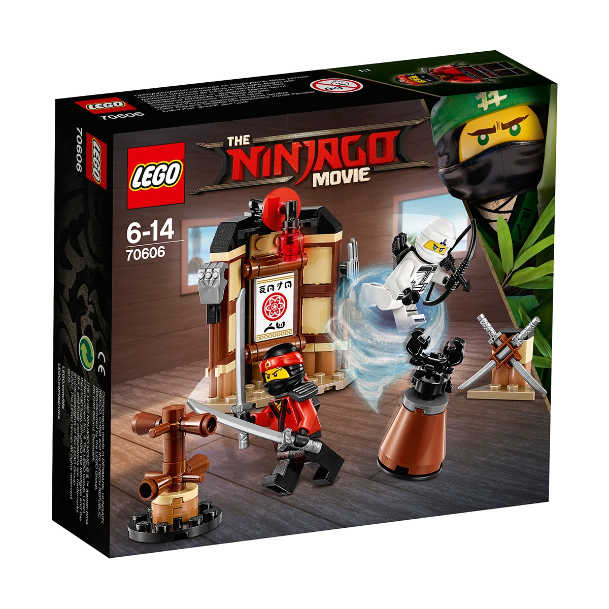 lego® ninjago - antrenament spinjitzu (70606)