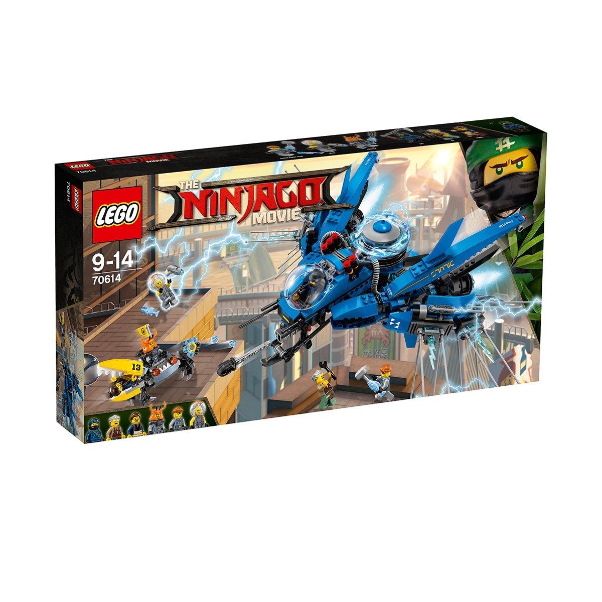 lego® ninjago - avion cu reactie (70614)