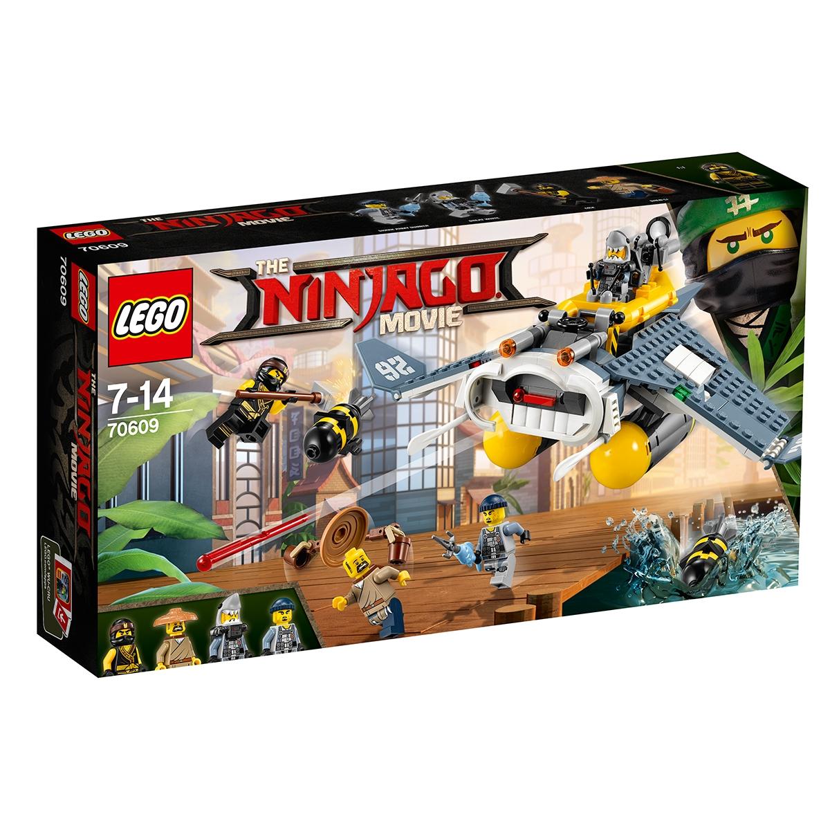 lego® ninjago - bombardier diavol de mare (70609)