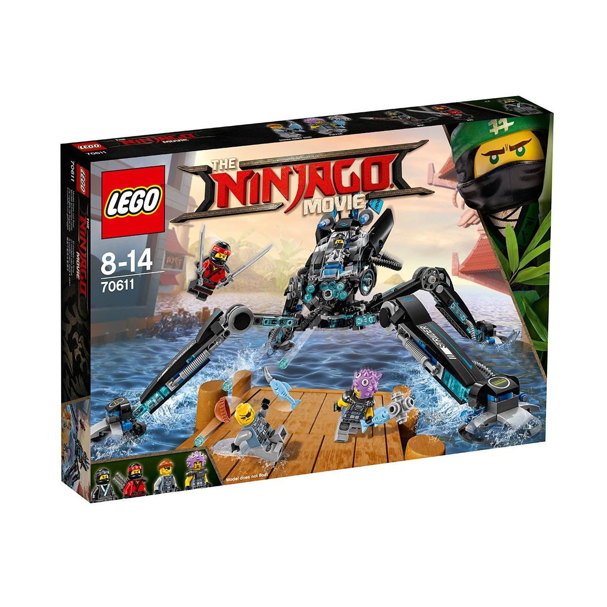 lego® ninjago - paianjen de apa (70611)