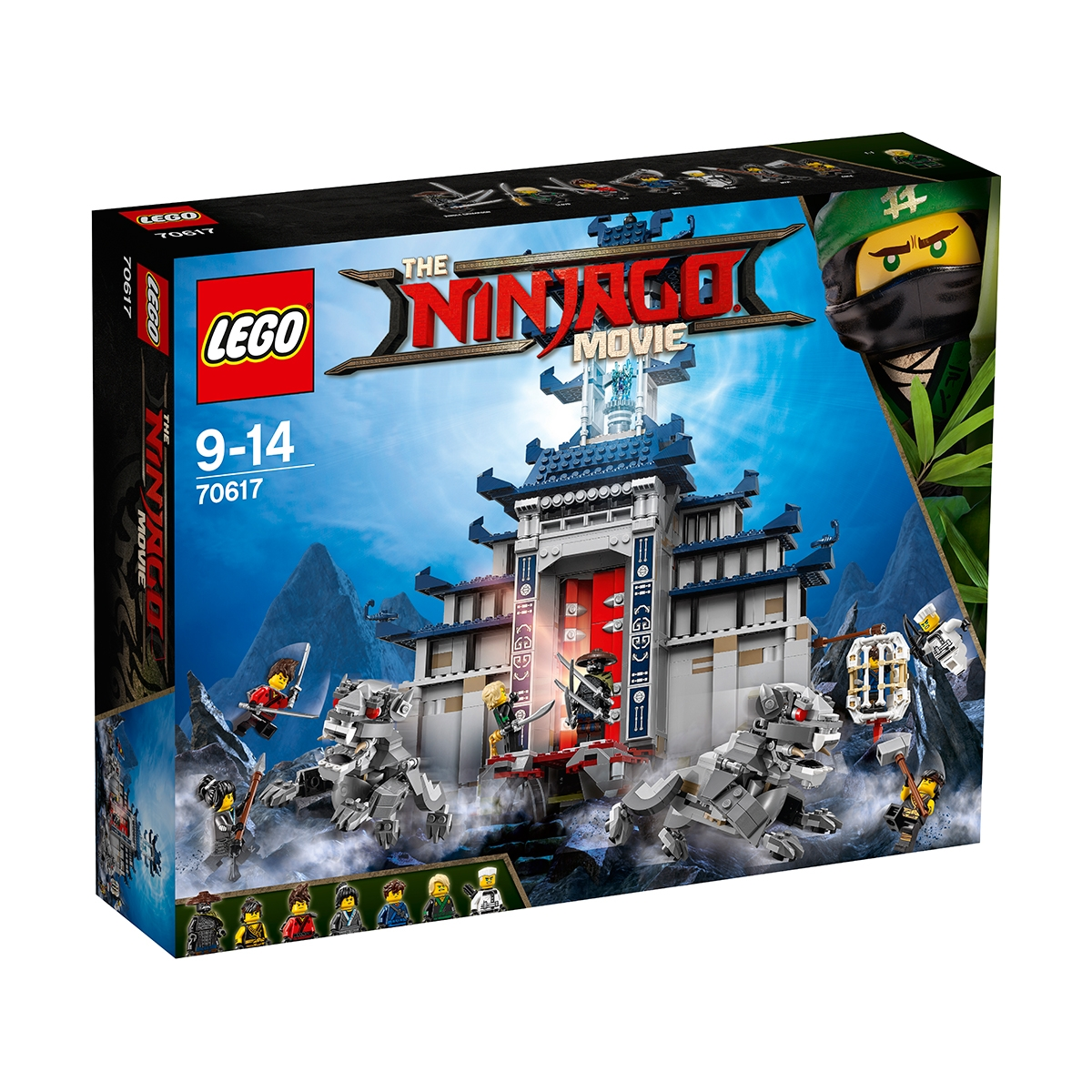 lego® ninjago - templul armei supreme (70617)