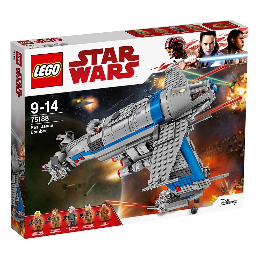 lego® star wars™ - bombardier al rezistentei (75188)