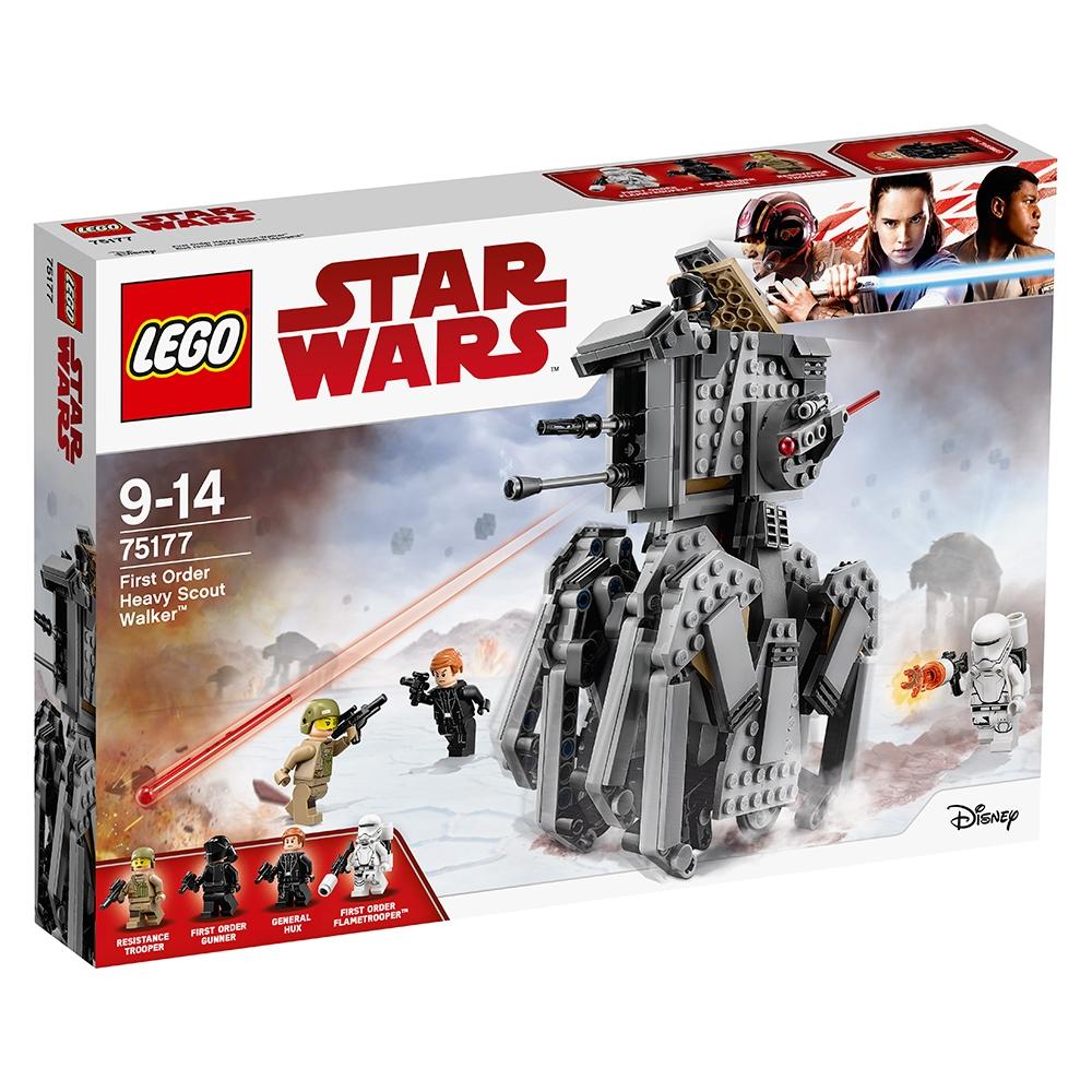 lego® star wars™ - heavy scout walker al ordinului intai (75177)