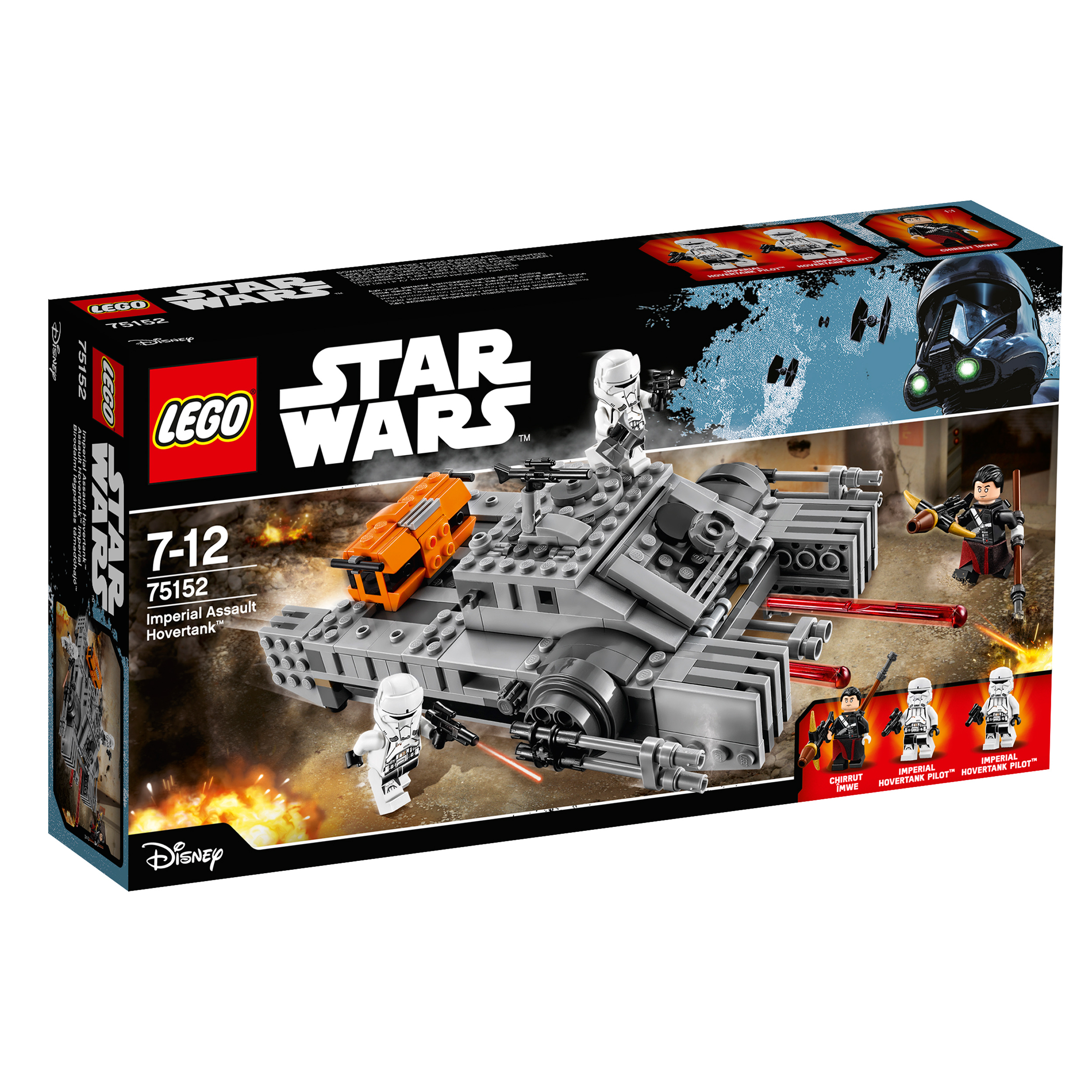 lego® star wars™ - imperial assault hovertank (75152)