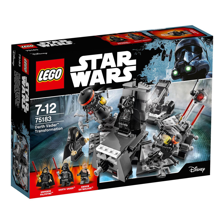 lego® star wars™ - transformarea lui darth vader (75183)