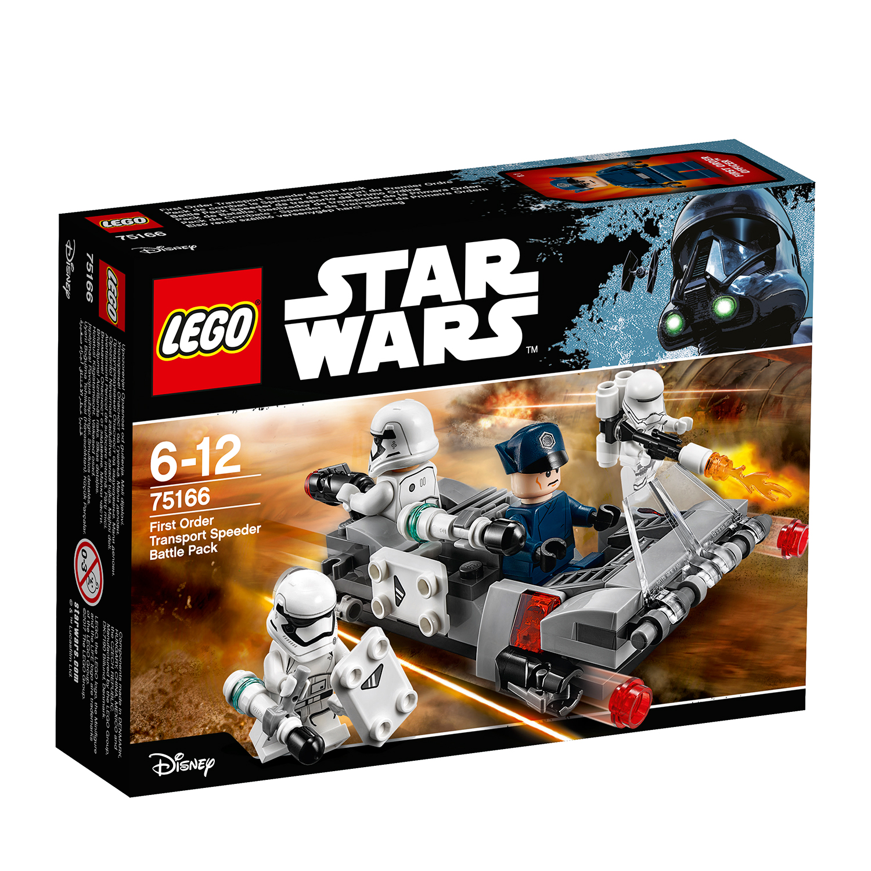 lego® star wars™ - transportor de viteza al ordinului intai (75166)