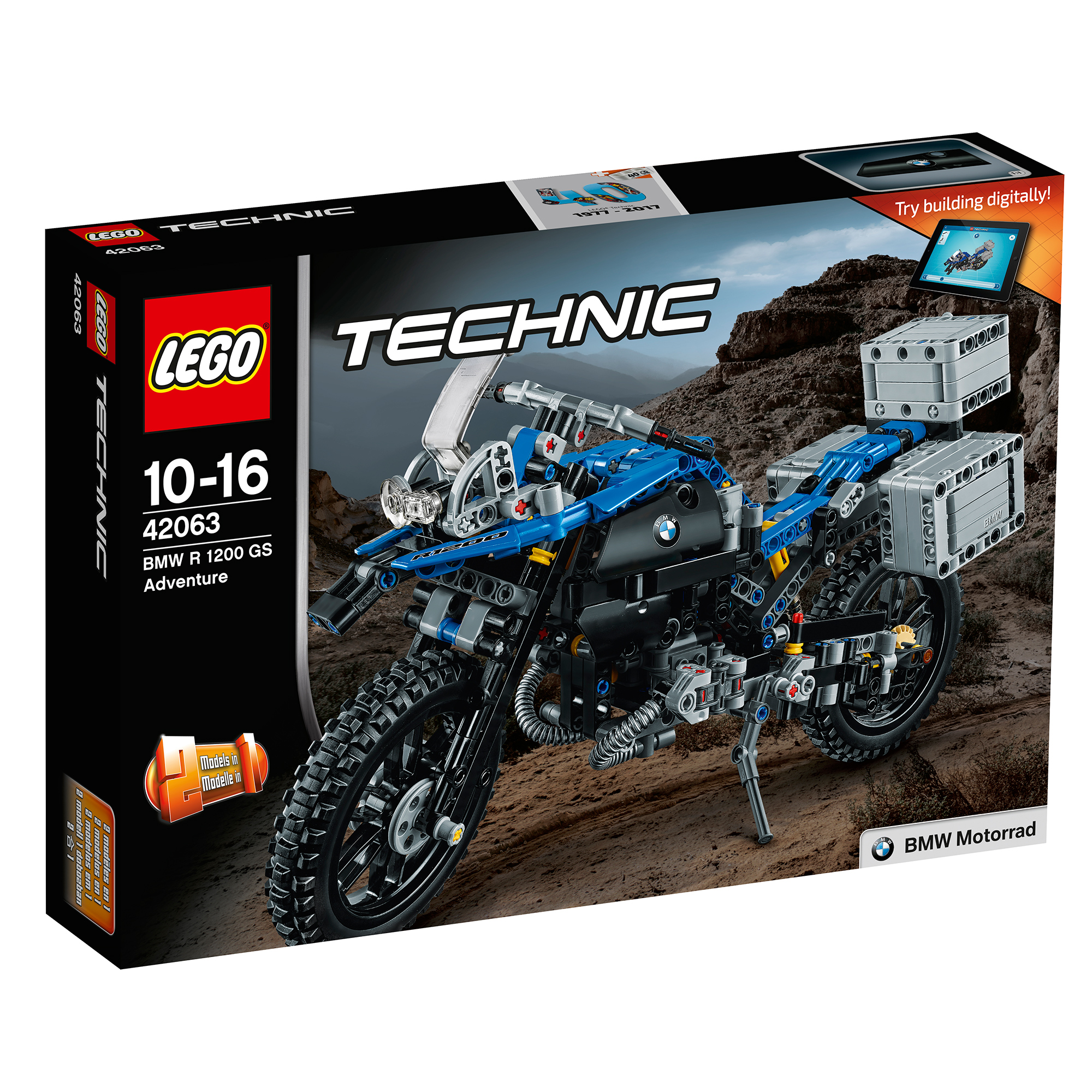 lego® technic™ - bmw r 1200 gs adventure (42063)