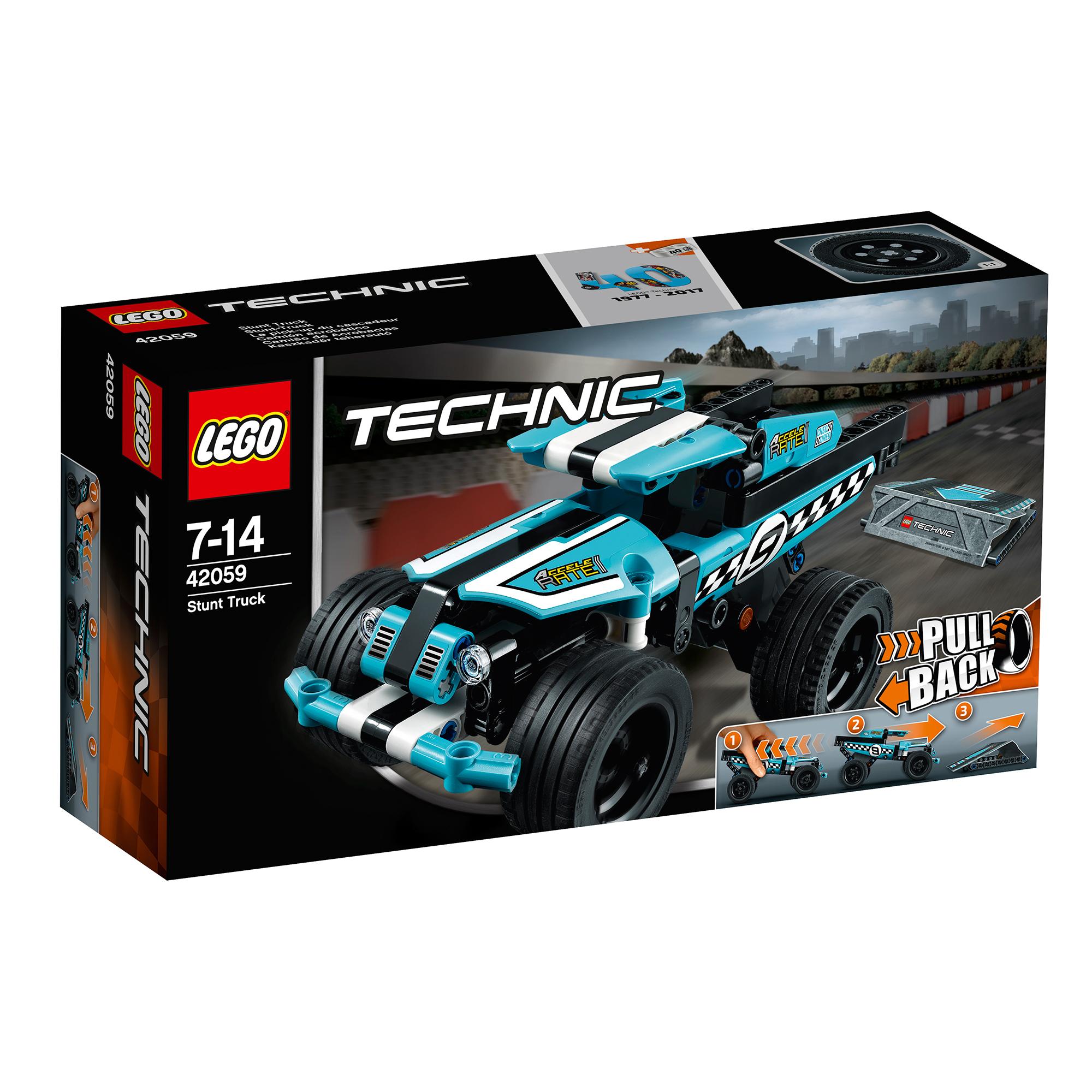 lego® technic™ - camion de cascadorie (42059)