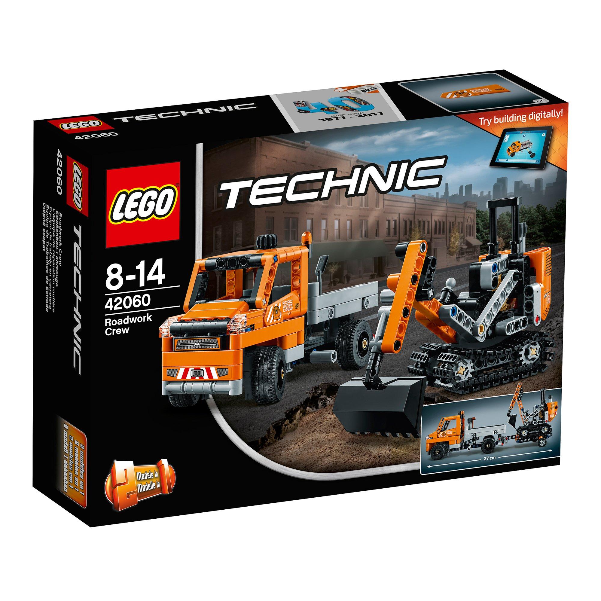 Lego® Technic™ - Echipaj Pentru Repararea Drumurilor (42060)
