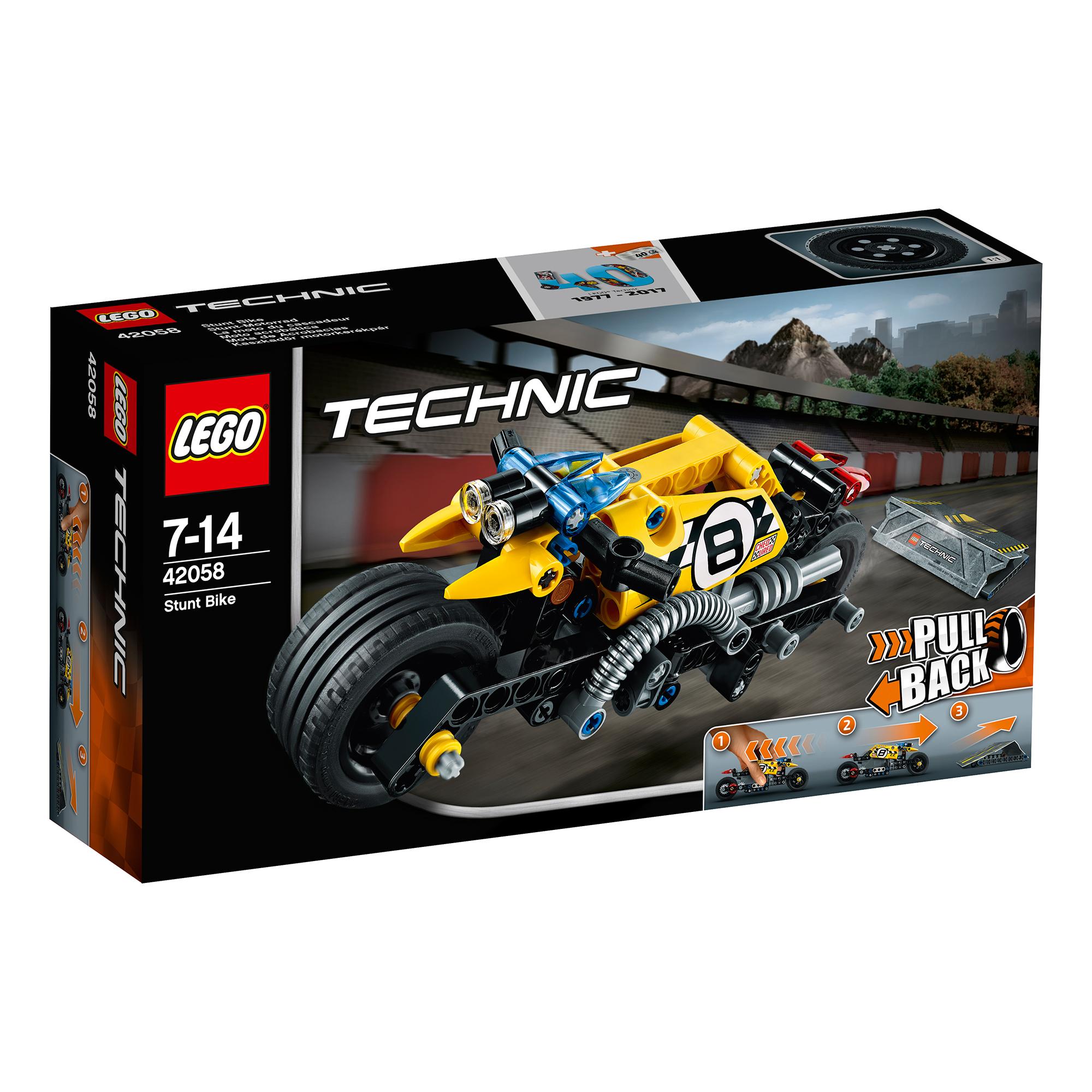 lego® technic™ - motocicleta de cascadorie (42058)