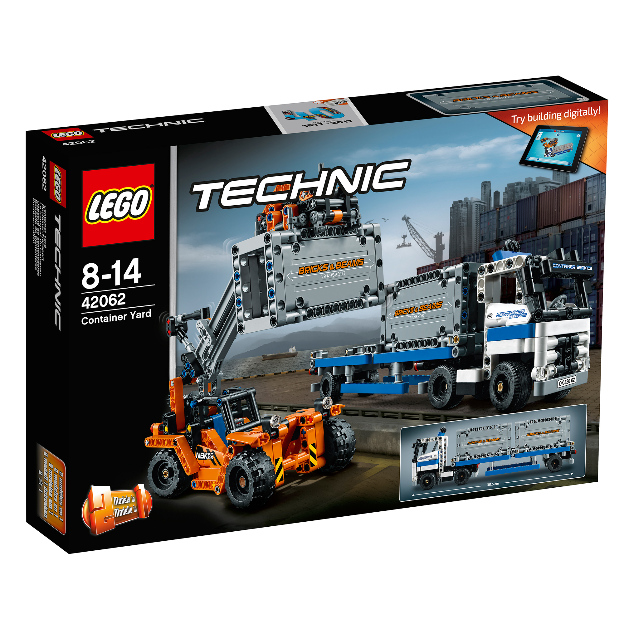 lego® technic™ - transportoare de containere (42062)
