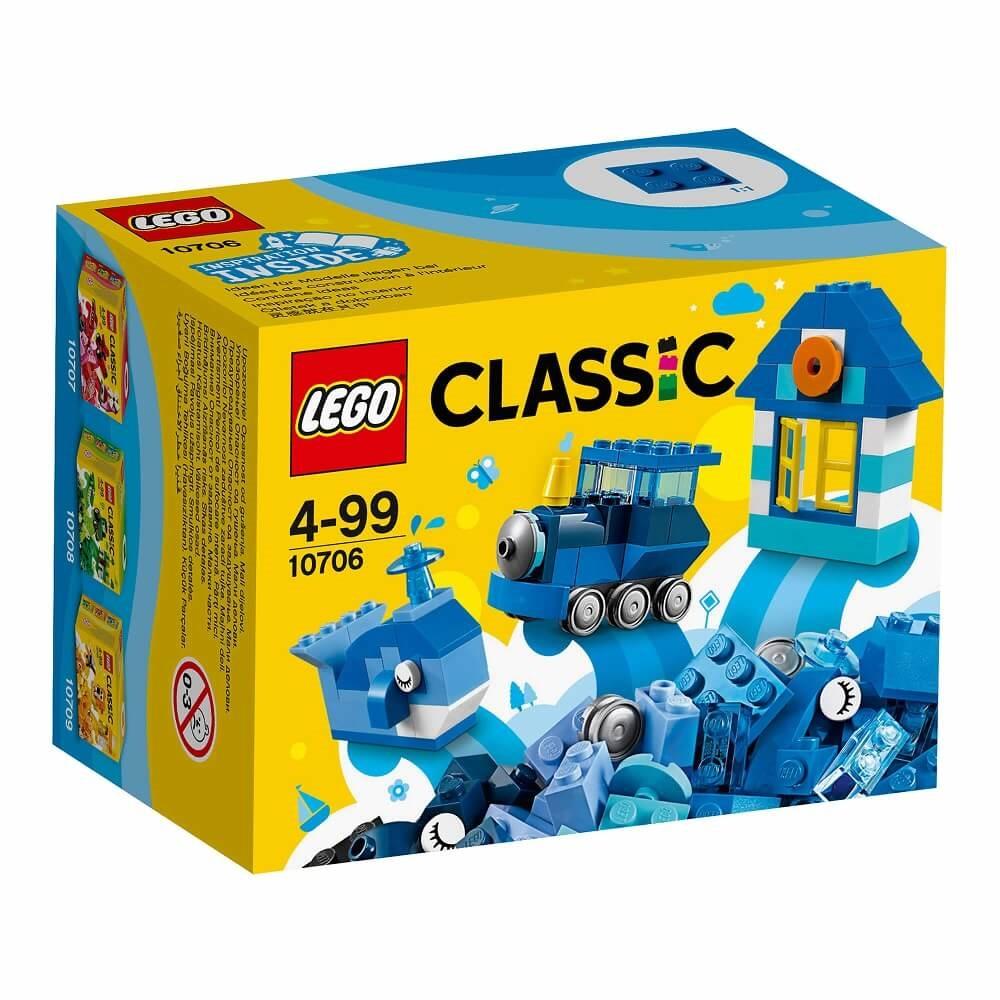 LEGO® Classic - Cutie albastra de creativitate (10706)