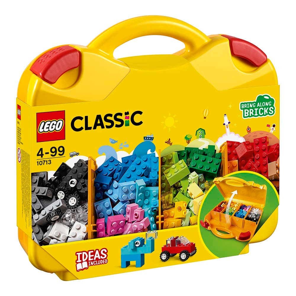 lego® classic - valiza creativa (10713)