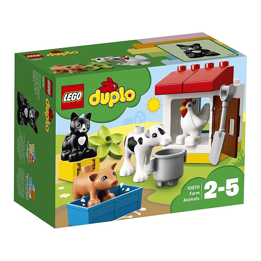 LEGO® DUPLO® - Animalele la ferma (10870) imagine 2021