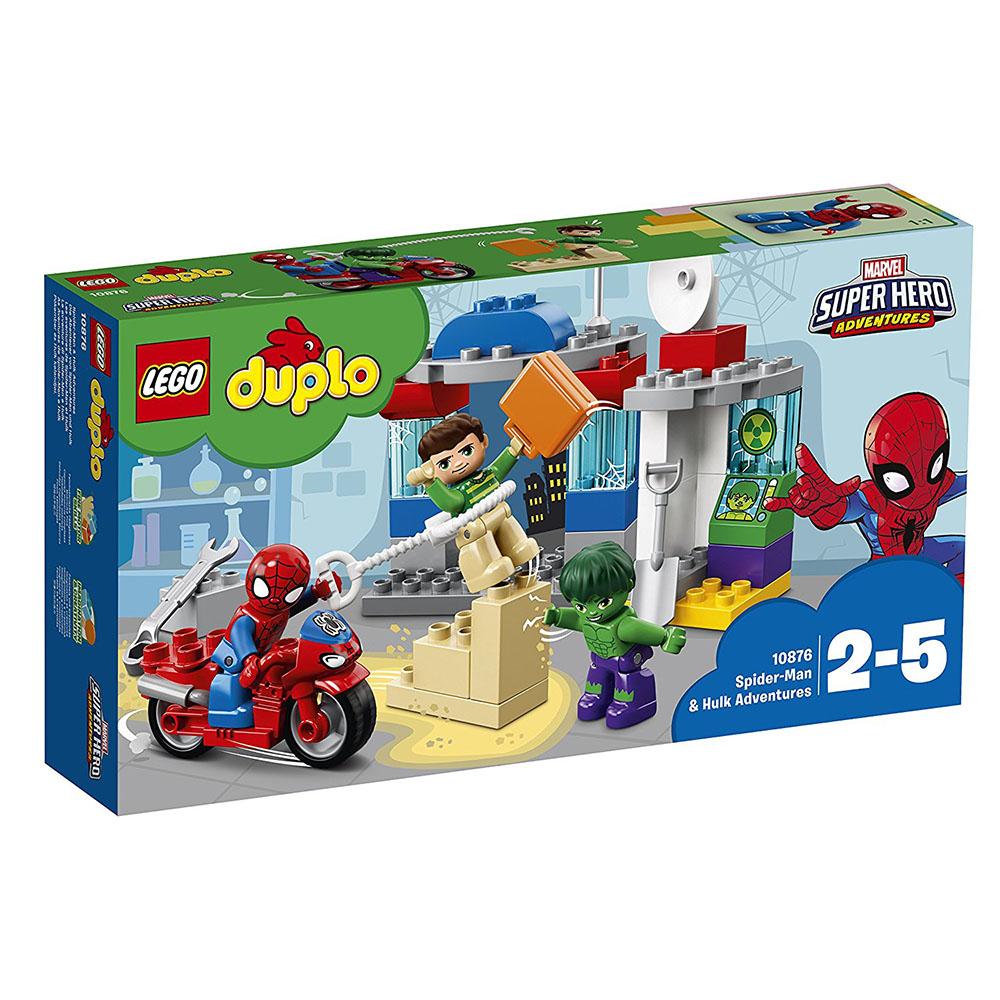 lego® duplo® - aventurile lui spider-man si hulk (10876)