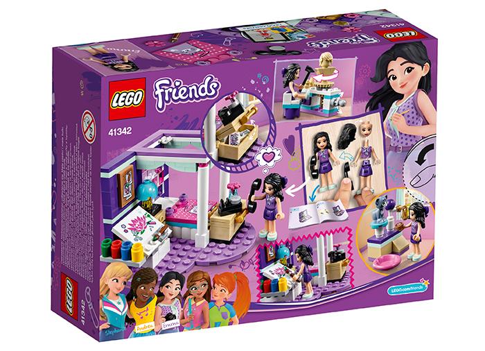 Lego® Friends - Dormitorul De Lux Al Emmei (41342)