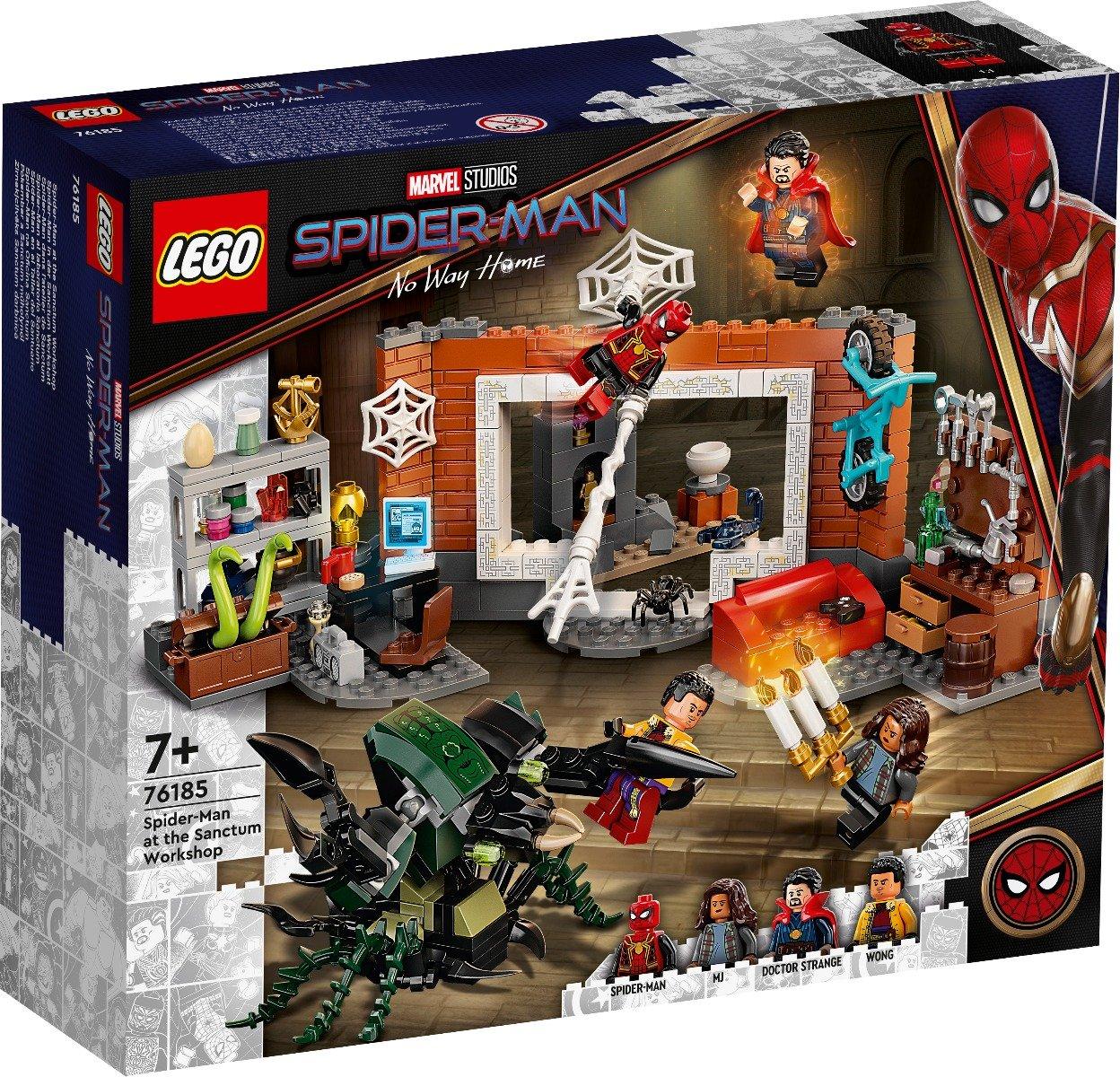 LEGO® Marvel Super Heroes - Omul Paianjen la Atelierul Sanctum (76185)