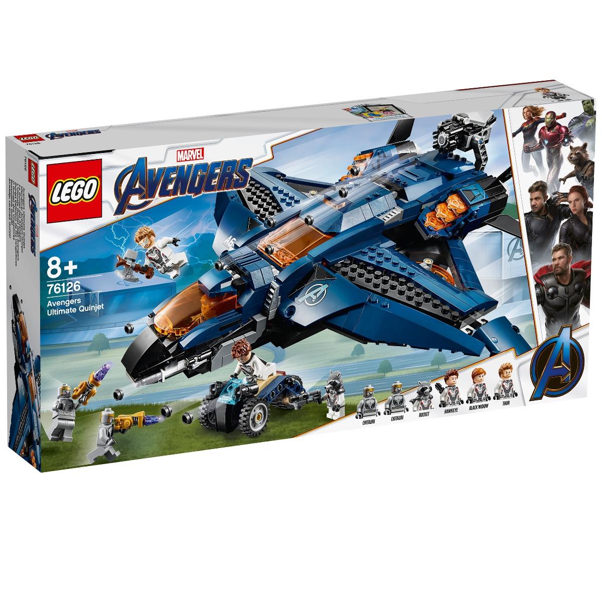 LEGO® Marvel Avengers - Quinjetul suprem al Razbunatorilor (76126)