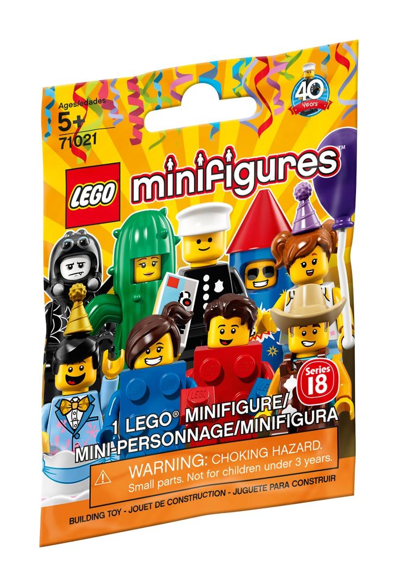LEGO® Minifigures - Petrecere, seria 18 (71021)