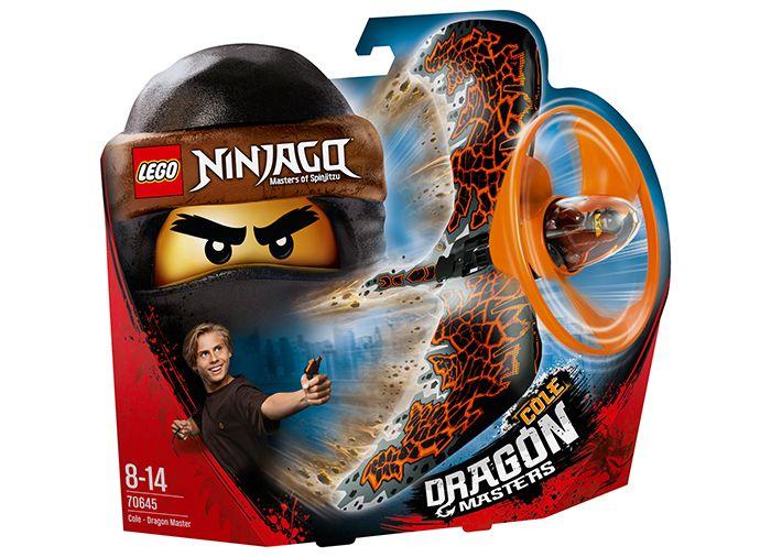 lego® ninjago - cole dragonjitzu (70645)