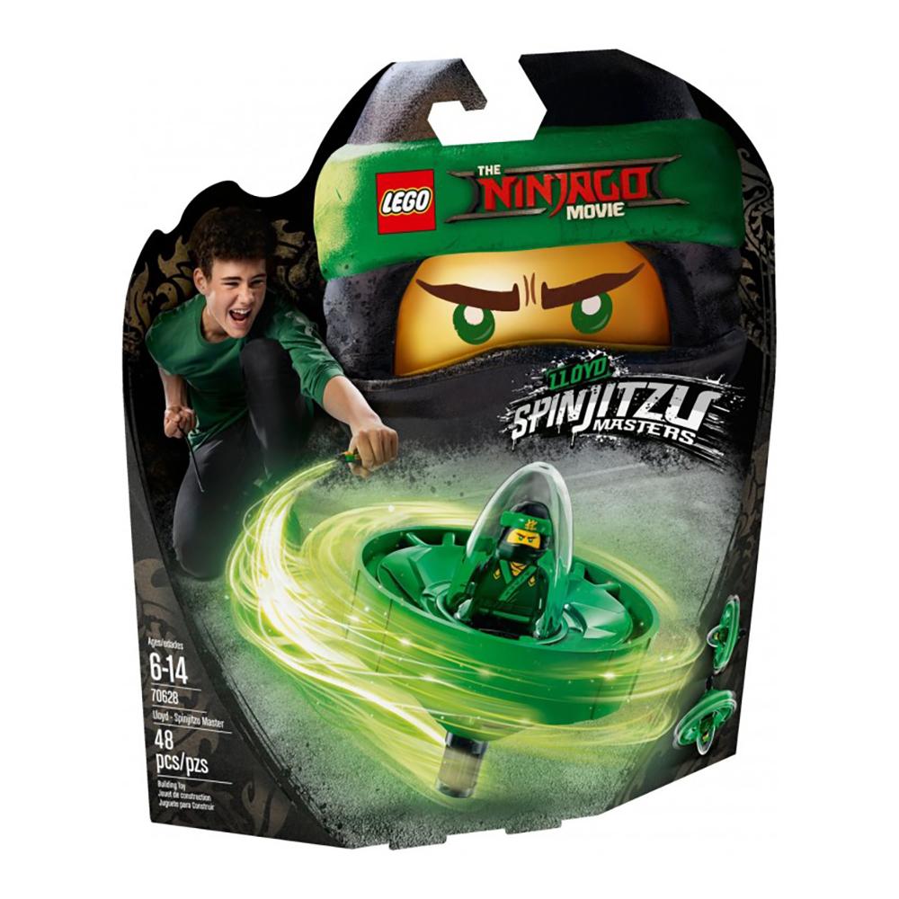 lego® ninjago - lloyd maestru spinjitzu (70628)