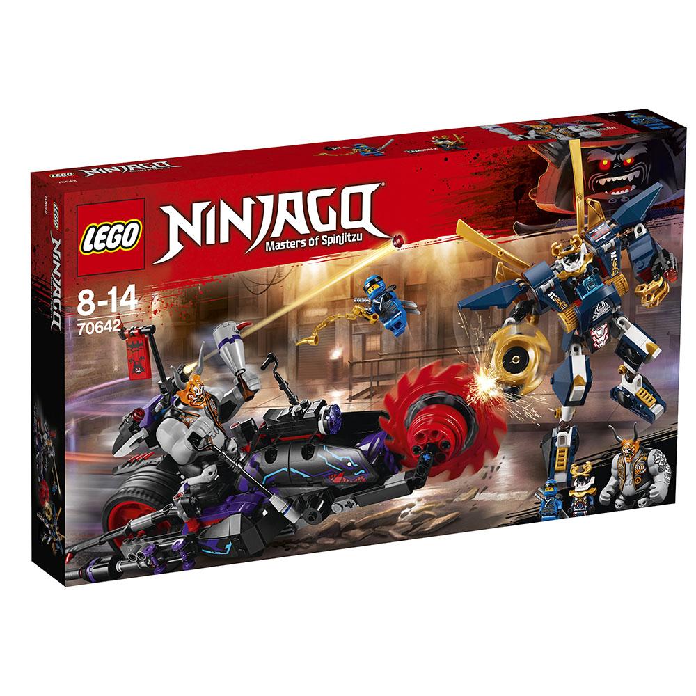 lego® ninjago - killow contra samurai x (70642)