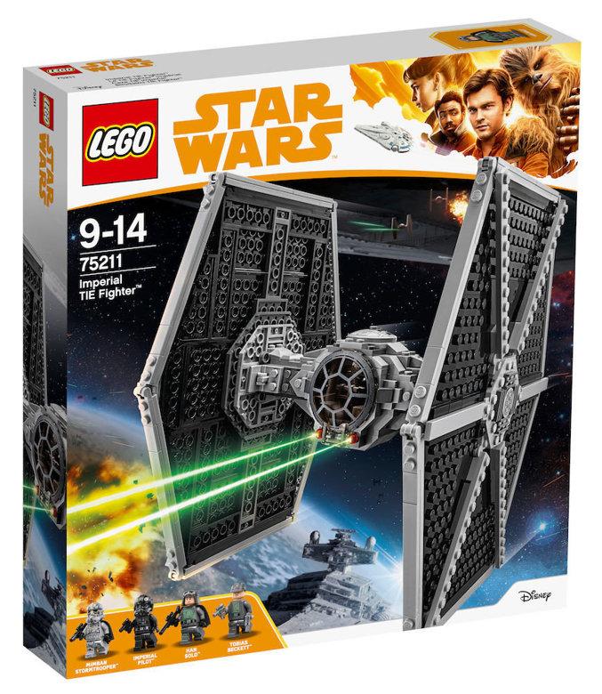 lego® star wars™ - imperial tie fighter (75211)